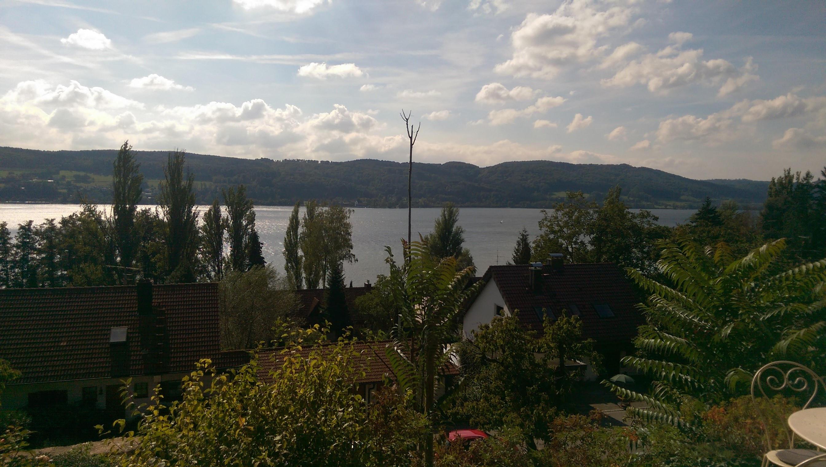 Blick auf den Bodensee vom Museum Haus Dix