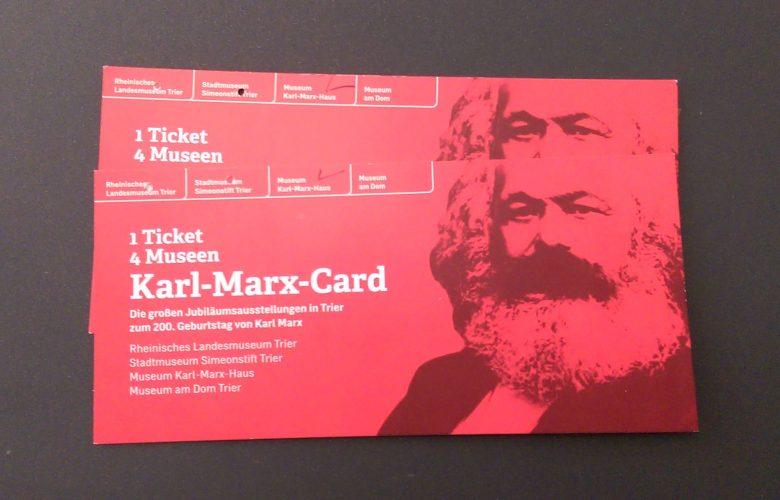 Karl Marx-Ausstellung in Trier
