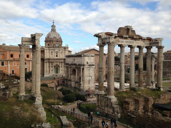Forum Romanum in Rom.