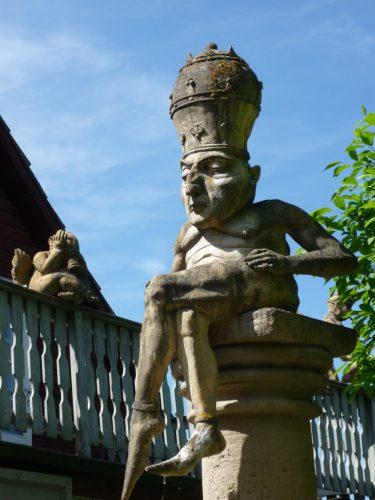 Peter Lenk am Bodensee: Bildhauergarten