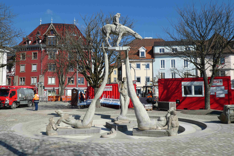 Peter Lenk am Bodensee: Bodenseereiter