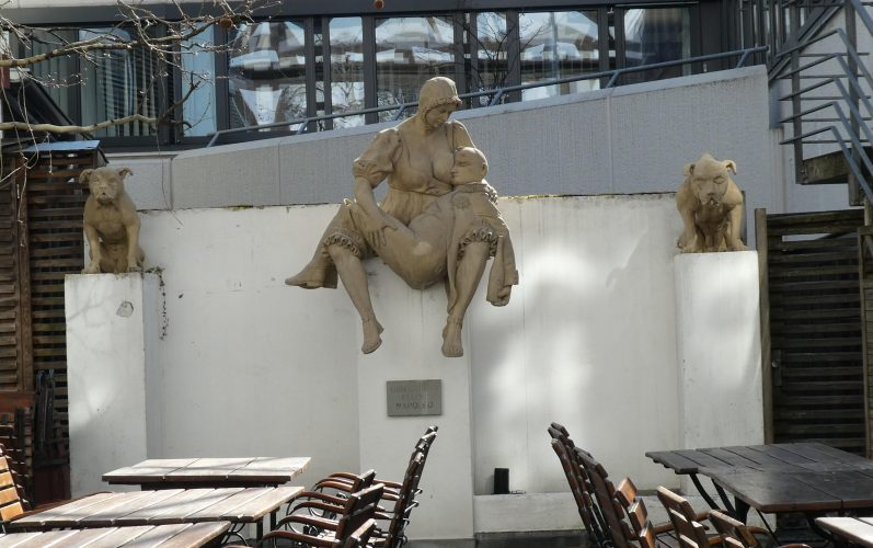 Peter Lenk am Bodensee: Napoleondenkmal