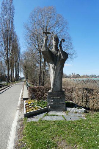 Statue des Heiligen Pirmin