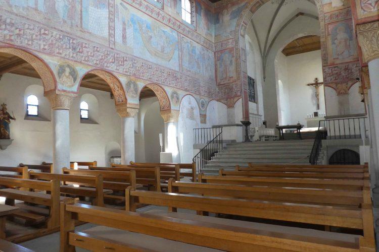 Sehenswürdigkeiten auf der Insel Reichenau, Wandmalereien in St. Georg