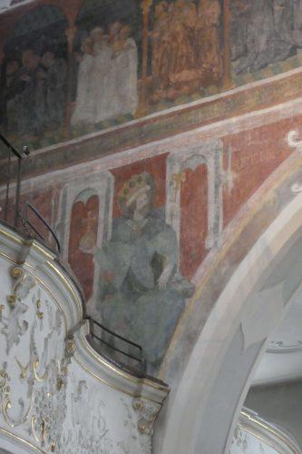 Fresken in der Dreifaltigkeitskirche