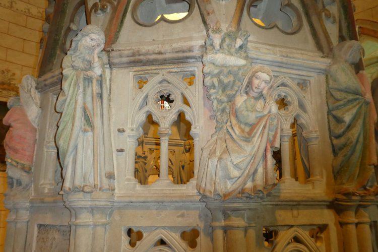 Detail am Heiligen Grab im Konstanzer Münster
