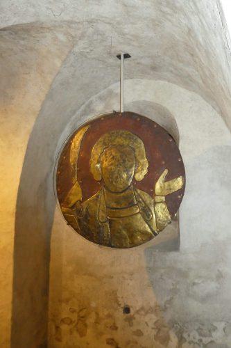 Pelagiusscheibe im Münster