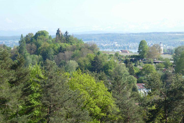 Aussicht von der Riesenbergkapelle