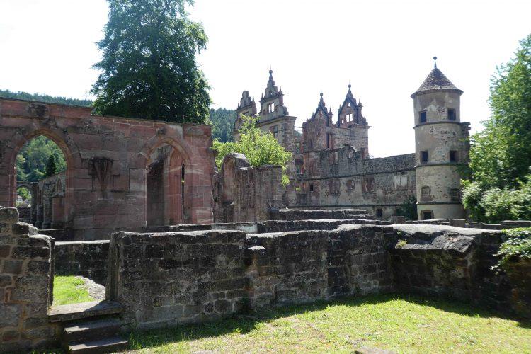 Geschichte des Klosters Hirsau: Klosteranlage und Schlossruine