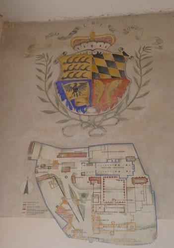 Plan der Klosteranlage in Hirsau