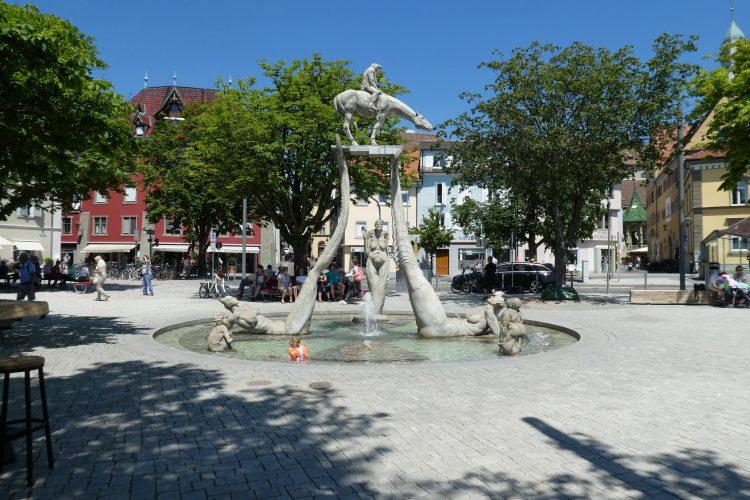 Highlights in Überlingen: Bodenseereiter