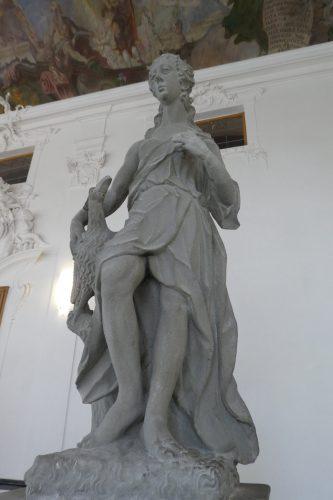 Skulptur der Juno