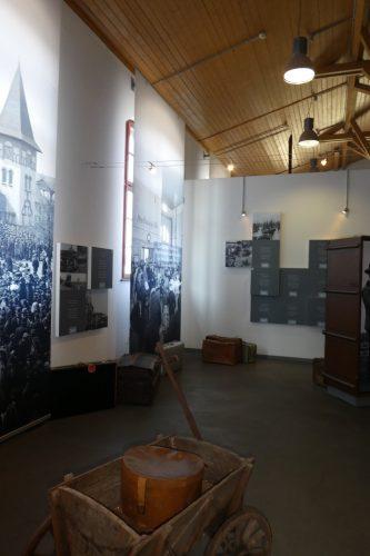 BallinStadt: Blick in die Ausstellung