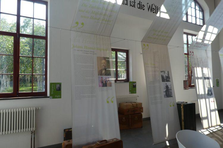 Auswanderermuseum Hamburg: Biographien