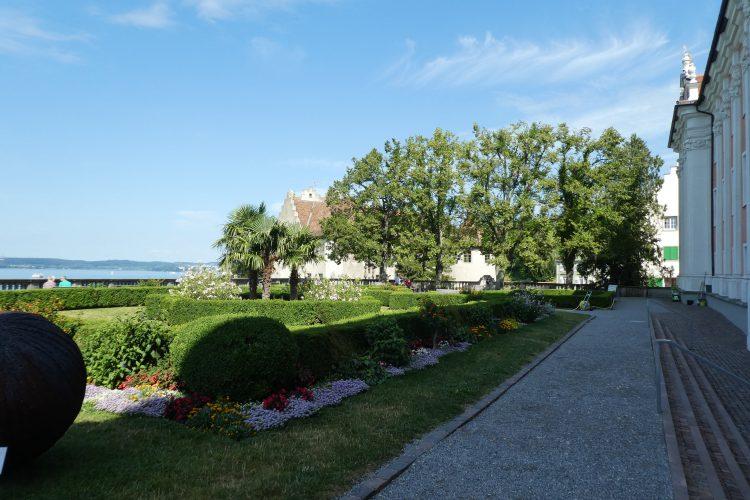Sehenswürdigkeiten in Meersburg:  Schlossgarten