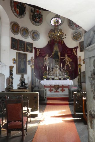 Burgkapelle der Meersburg