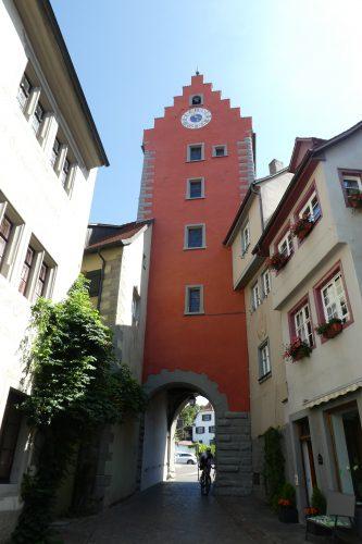 Sehenswürdigkeiten in Meersburg: Obertor