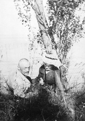 Hermann und Mia Hesse am Bodensee
