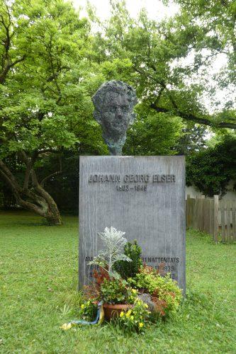 Denkmal Georg Elser in Konstanz