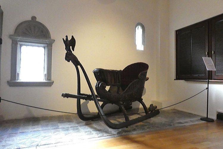 Rosgartenmuseum in Konstanz: Schlitten von Napoleon III.