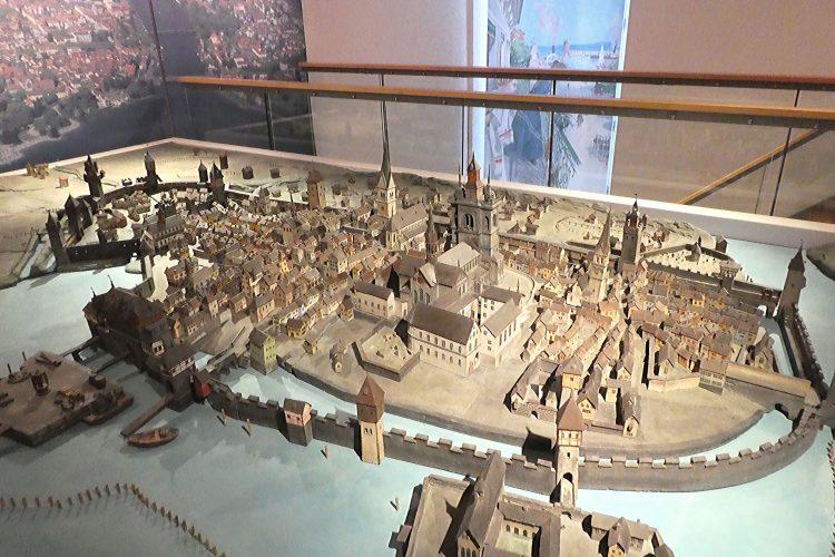 Rosgartenmuseum in Konstanz: Stadtmodell