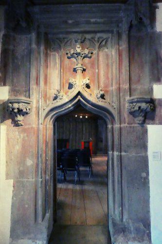Eingang Zunftsaal
