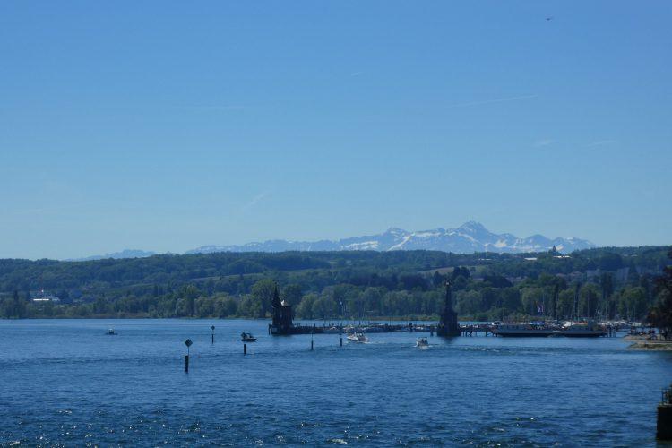 Sehenswürdigkeiten am Bodensee: Der Hafen in Konstanz
