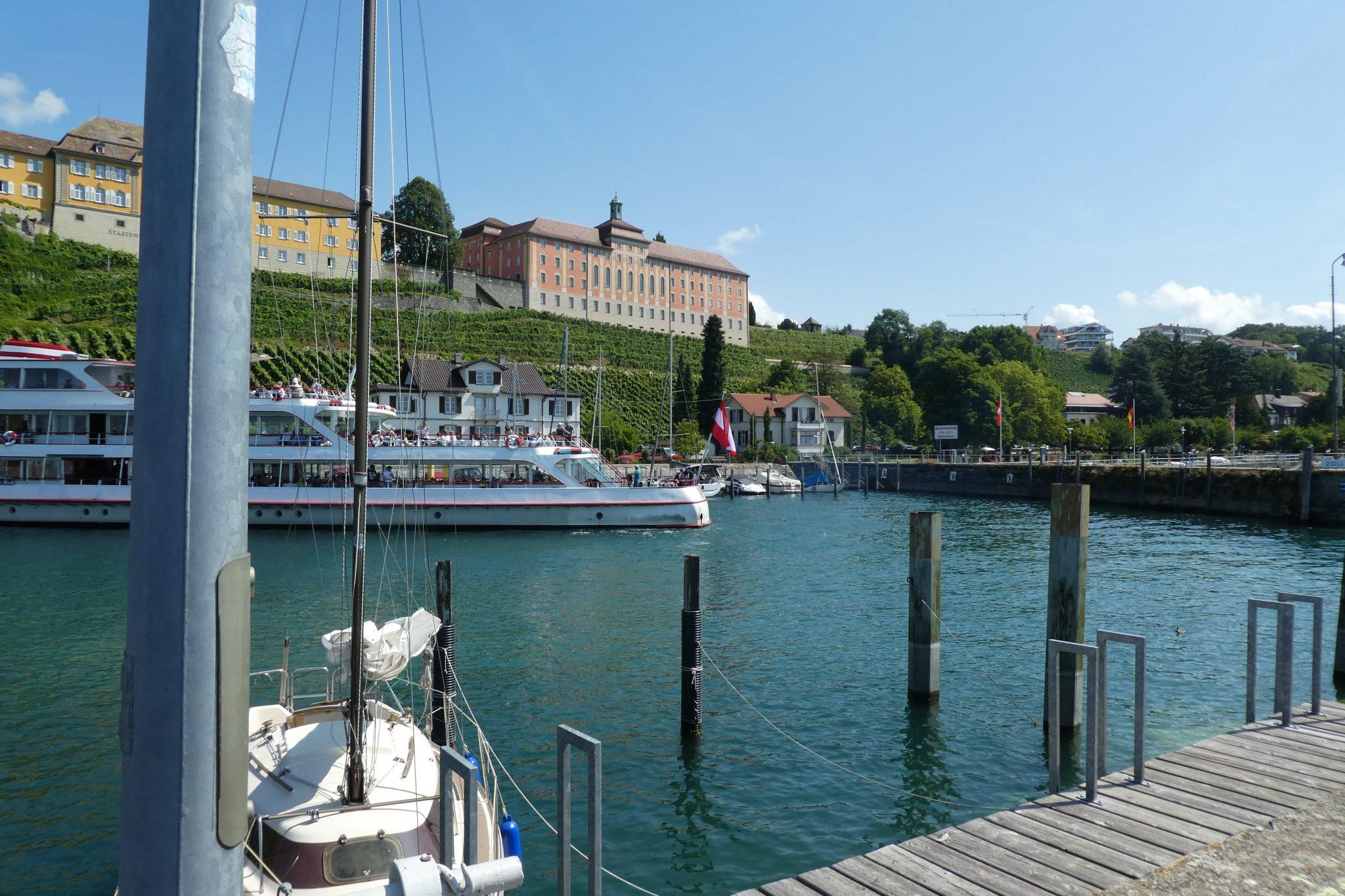 Hafen in Meersburg