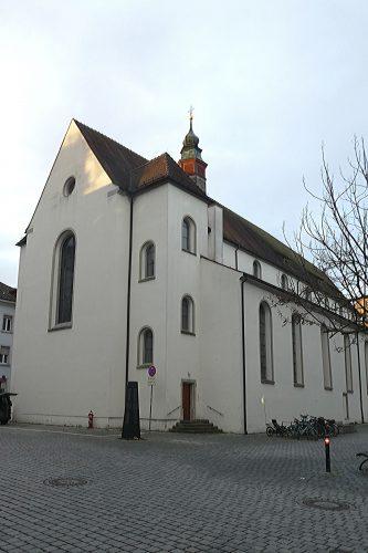 Kirchen am westlichen Bodensee: Dreifaltigkeitskirche in Konstanz