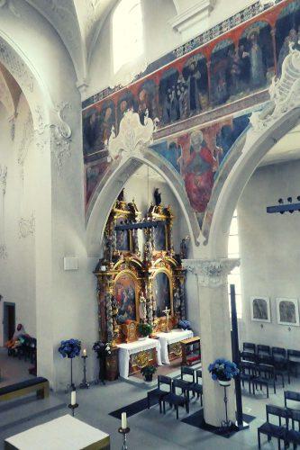 Seitenaltar in der Dreifaltigkeitskirche in Konstanz