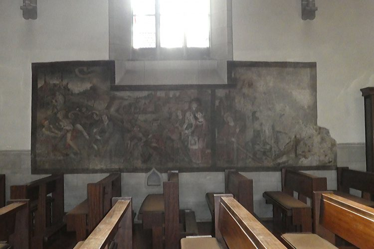 Wandmalerei im Radolfzeller Münster