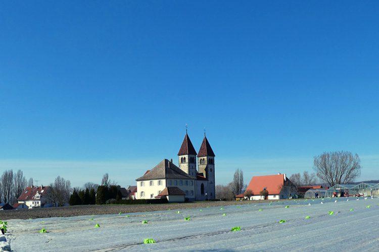 Kirchen am westlichen Bodensee:Kirche St. PEter und Paul auf der Reichenau