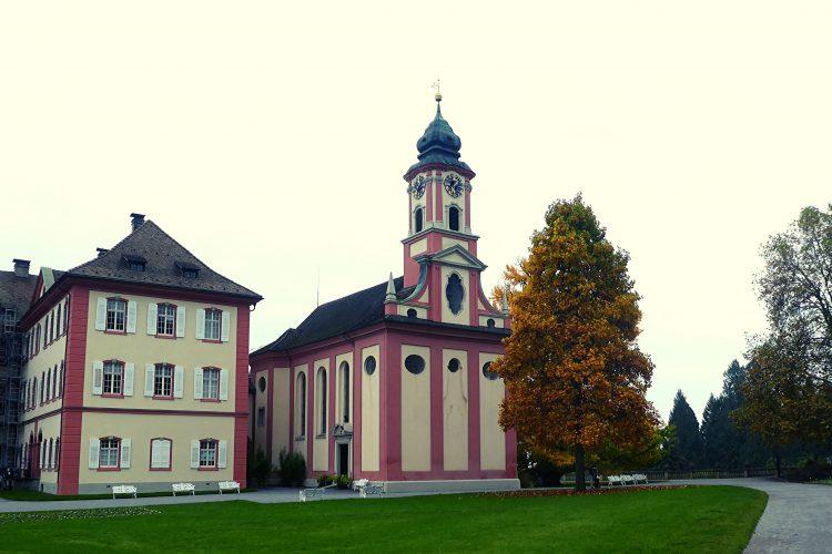Kirchen am westlichen Bodensee: Schlosskirche auf der Mainau