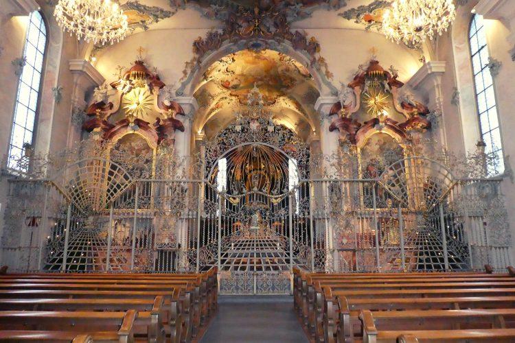 Chor in St. Ulrich und Afra