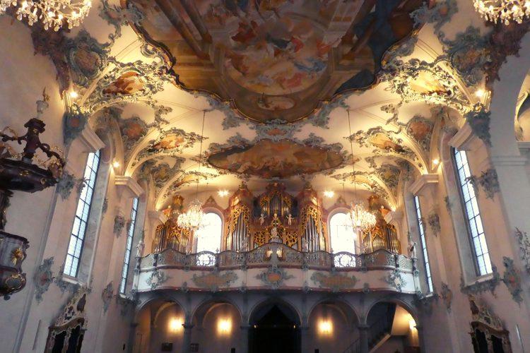 Orgelempore in St. Ulrich und Afra