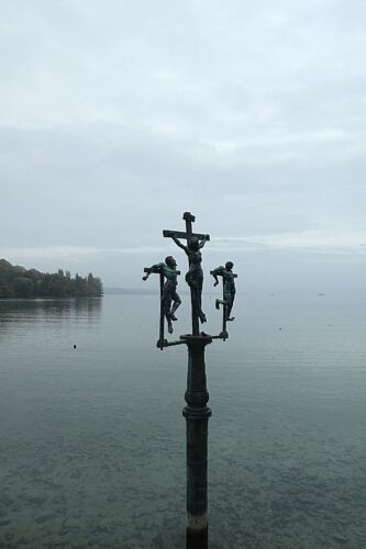 Geschichte der Mainau: Das Schwedenkreuz