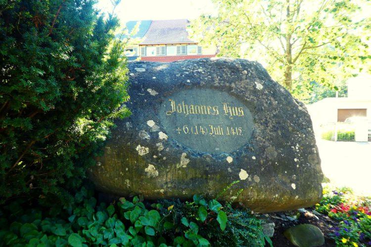 Konzil von Konstanz: Hussenstein