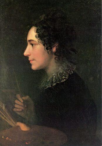 Marie Ellenrieder, Selbstbildnis 1819