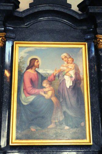 Jesus als Kinderfreund