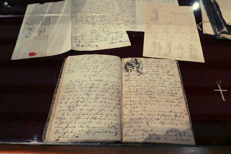 Marie Ellenrieder Tagebücher
