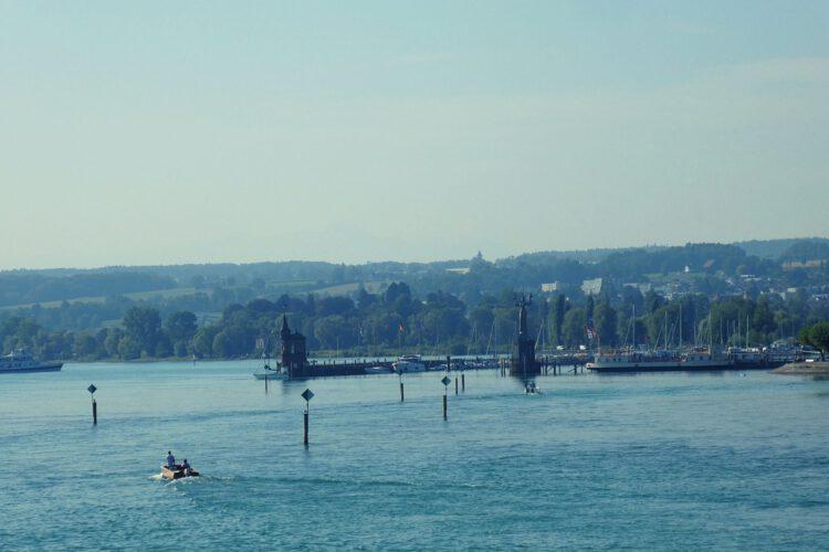 Konstanz Hafeneinfahrt